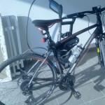 Fahrrad in Garage