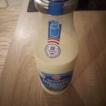 Milch Glasflasche
